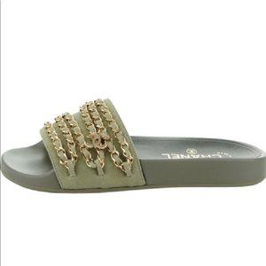 e82b2df269db Women s Chanel Sandals Saks on Poshmark